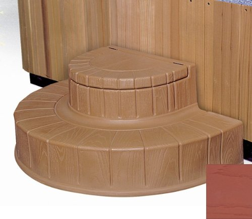 Step n Stow 6130327 Concept 2 Spa Steps - Dark Redwood by Byron Originals