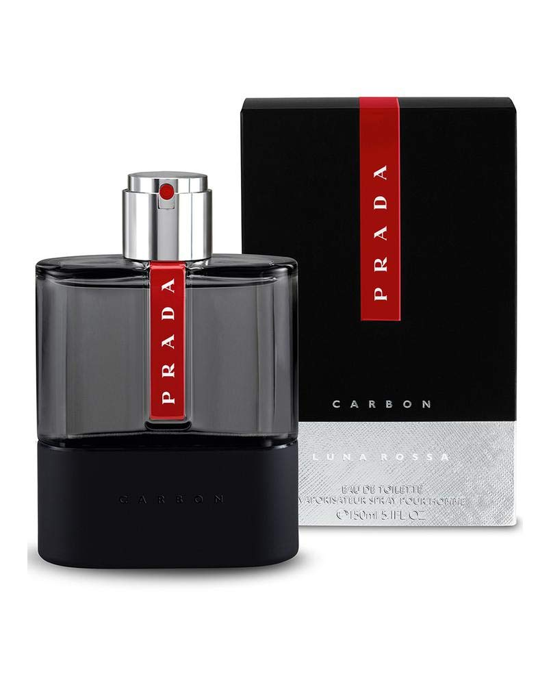 Luna Rossa Carbon Eau de Toilette Spray, 5.1 oz