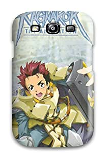 Durable Defender Case For Galaxy S3 Tpu Cover(ragnarok Anime)