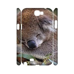 J-LV-F Koala Customized Hard 3D Case For Samsung Galaxy Note 2 N7100