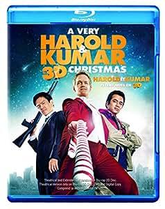 A Very Harold & Kumar Christmas [Blu-ray 3D + Blu-ray] (Bilingual)