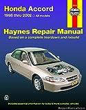 img - for H42014 Haynes Honda Accord 1998-2002 Repair Manual book / textbook / text book