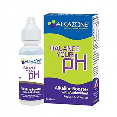 AlkaZone - Alkaline pH Booster Drops 1.25 fl oz (3-Pack) (Alkaline Drops For Drinking Water compare prices)