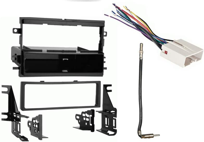 Amazon.com: Compatible with Ford F 250 350 450 550 2013 2014 2015 2016  Single DIN Stereo Radio Install Dash Kit New: Car Electronics | 2015 Ford F 250 Audio Wiring |  | Amazon.com