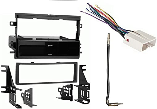 Amazon.com: Compatible with Ford Focus 2005 2006 2007 Single DIN Stereo  Harness Radio Install Dash Kit Package: Car ElectronicsAmazon.com