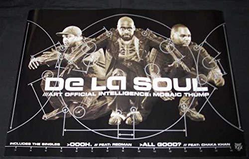 De La Soul - Art Official Intelligence Mosaic Thump (Poster) (De La Soul Art Official Intelligence Mosaic Thump)