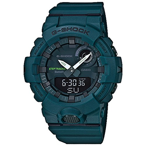 (Casio G-Shock Green Dial Polyurethane Strap Men's Watch GBA-800-3A )