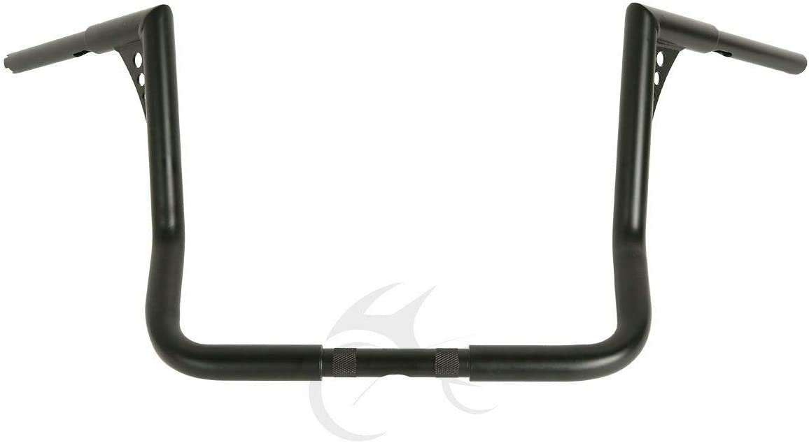 TCMT 16 Rise 1.25 Ape Handlebar For Harley Touring Electra Glide Baggers 1982-2019