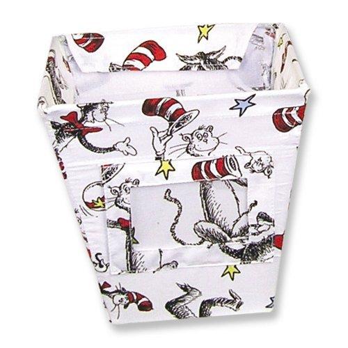 Amazon.com : Dr. Seuss Tela Storage Bin, gato en el sombrero, Pequeña : Baby