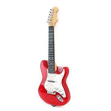 Mecotech Guitarra Electrica para Niños Eléctrica Música Niños de Guitarra Juguete Educativo de Instrumentos Musicales (