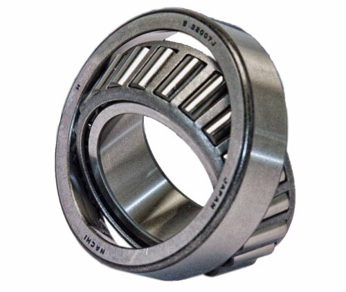 Nachi 32007 Tapered Roller Bearing Cone and Cup Set, Single Row, Metric, 35mm ID, 62mm OD, 18mm (Nachi Cylindrical Roller Bearing)