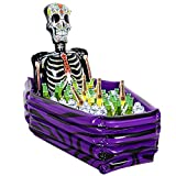 "JoyJon Christmas Decorations Inflatable Cooler Skeleton Coffin Ice Bucket 40""x30""x12"" And Depth 10""Christmas Part Favors"