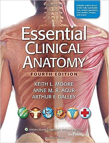 Essential Clinical Anatomy: Keith L. Moore MSc PhD FIAC FRSM FAAA ...