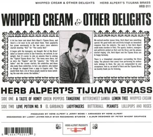 Whipped Cream & Other Delights by Herb Alpert Presents