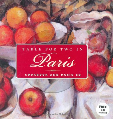 Table for Two in Paris (BookNotes) (With CD) by Peter Pauper Press