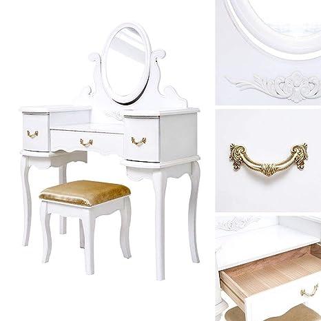 Genérico e D Mesa de Maquillaje DRES Mesa tocador vestidor de ...