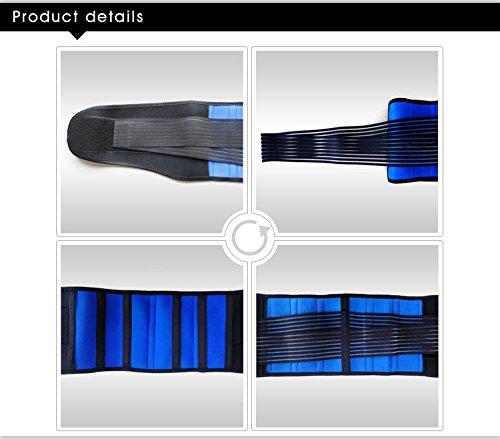 Double-Pull Neoprene Lumbar Support Belt (S-XXXXL) (XXXL(46-50''/116-126cm)) by Aofit (Image #5)