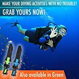 Dive Knife for Scuba Diving with Leg Strap