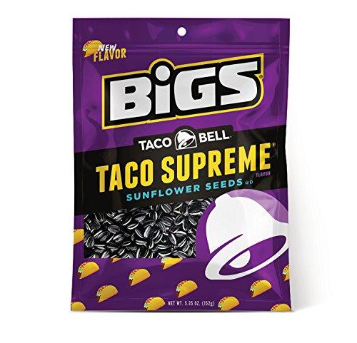 (BIGS Taco Bell Taco Supreme Sunflower Seeds, 5.35-oz. Bag )