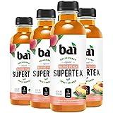 Bai Iced Tea, Narino Peach, Antioxidant Infused Supertea, Crafted with Real Tea (Black Tea, White Tea), 18 Fluid Ounce Bottles, 6 count