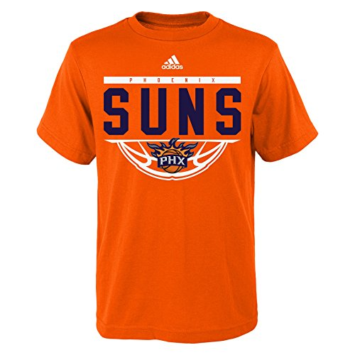 NBA Youth 8-20 Phoenix Suns Balled Out Short Sleeve Tee-Texas - Suns Sleeve Adidas T-shirt Short Phoenix