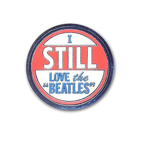 (The Beatles I Still Love The Beatles Official Metal Pin Badge Size One Size)