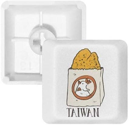 DIYthinker Alimentos Fritos Serpiente Teclas Pbt Taiwán Pollo ...