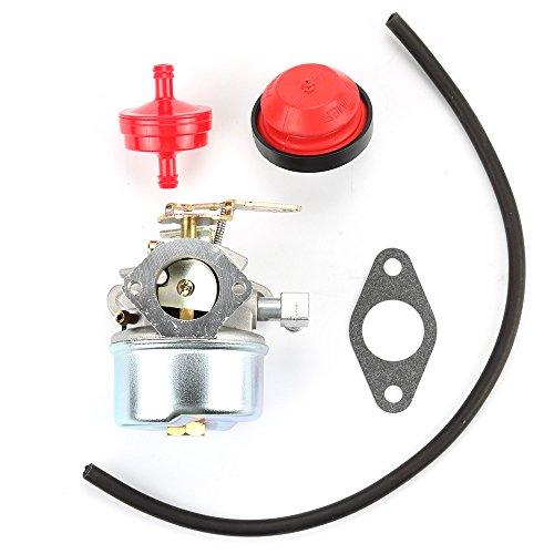Carburetor Carb for TORO SNOWBLOWER 38035 38052 38054 38052C 38035C 38056 Tecumseh 632107 640084 With Free Gasket & Primer Bulb & Fuel Filter & Fuel Line