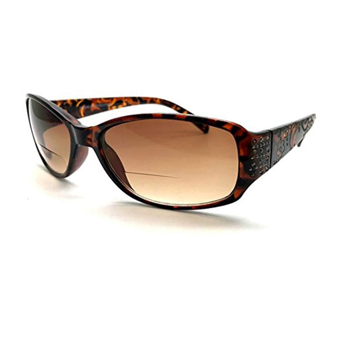 235ea8d2eb26 Amazon.com  Women Bifocal Sun Readers Sunglasses Reading Glasses +1.50 +1.75  +2.00 +2.25 +2.50 +3.00 +3.50 (Black