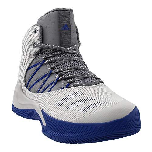 adidas Men's Ball 365 Inspired Basketball Shoe ONE/Grey Three/Collegiate Royal, 12 Medium US