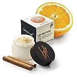 Beauty For Real Lip Revival Sugar Lip Scrub, Orange Spice, Unisex Exfoliating Conditioning Lip Treatment, Essential Oils, Vegan, Organic, Cruelty Free 0.5 oz