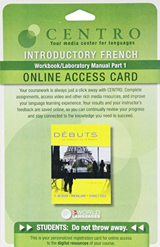 Quia WBLM Part 1 Access Card for Debuts