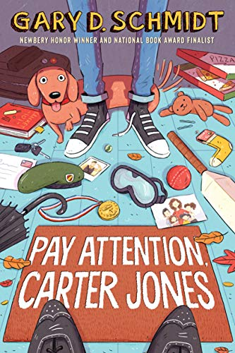 Book Cover: Pay Attention, Carter Jones