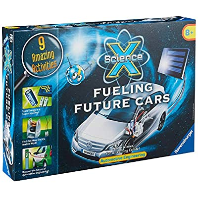 Ravensburger Science X Fueling Future Cars - Science Activity Kit: Toys & Games