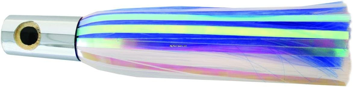 "Iland Lures Iland Sailure Flasher w/Mylar 5 1/2"" 1/2oz Blue White #SA300F-BL/WH"