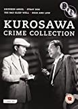 Kurosawa Crime Collection - 4-DVD Box Set ( Yoidore tenshi / Nora inu / Warui yatsu hodo yoku nemuru / Tengoku to jigoku ) ( Drunken Angel / Stra [ NON-USA FORMAT, PAL, Reg.2 Import - United Kingdom ]