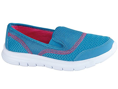 RTB - Zapatillas para mujer turquesa