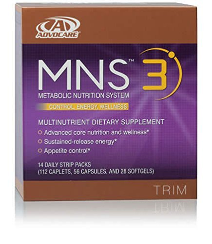 Mns 3 Advocare Dietary Supplement 14 Day Supply
