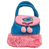 """Webkinz Purse Turquoise Blue and Pink 8"""""""