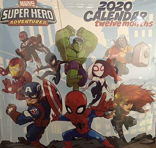 2009 Twelve Month Calendar - Marvel Super Hero Adventures 2020 Monthly Calendar - Twelve Months/Year 10