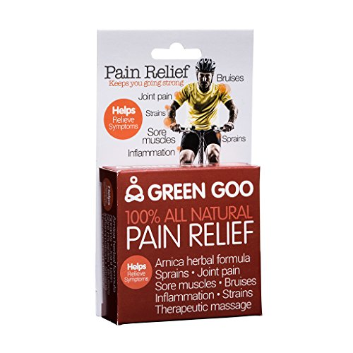 Green Goo All-Natural Skin Care, Pain Relief, Large Tin, 1.82 Ounce