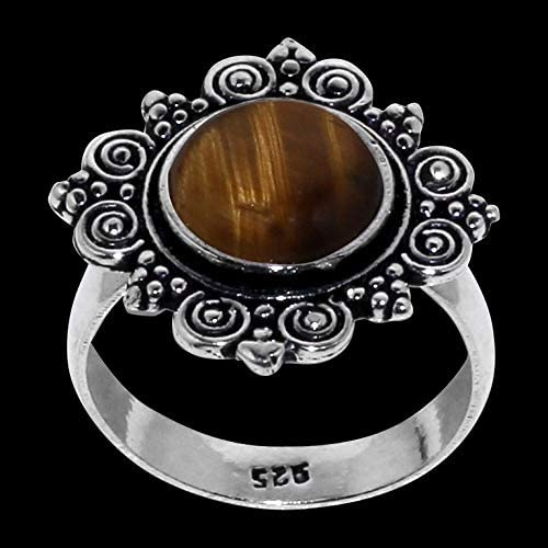 SilverArt Handmade Ring 925 Sterling Silver Plated Jewelry for womens and girls