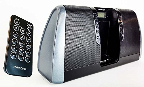 Memorex Digital Audio System with iPod Dock (Black)