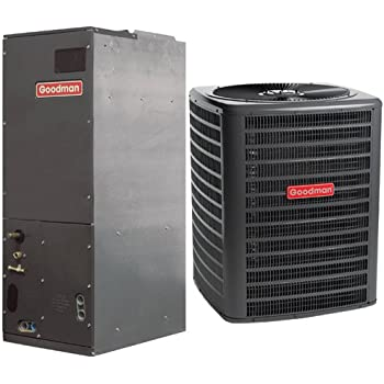 goodman ac unit. goodman 2.5 ton 14 seer air conditioner with multi position handler gsx140301/aruf31b14 ac unit i
