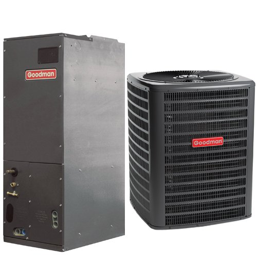 Goodman 2 Ton 14 SEER Multi Speed Central Air Conditioner Split System - Multiposition