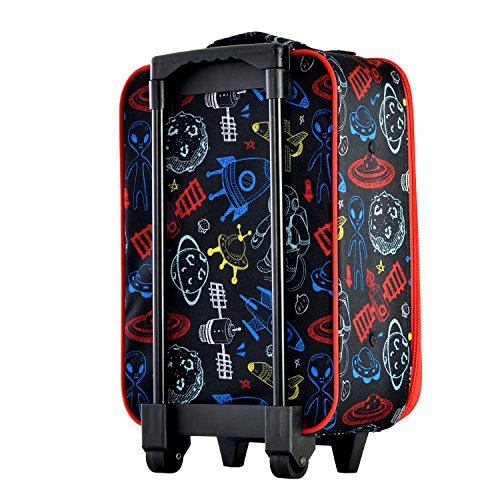Olympia Kids 17 Inch Carry-On Luggage, Black, One Size by Olympia (Image #2)