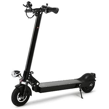 DAHEMA Scooter Eléctrico, 8 Pulgadas De Conducción Plegable Scooter De Dos Ruedas Mini Bicicleta Eléctrica