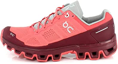 Zapatillas On Running Cloud Venture Coral Mujer 37 Coral: Amazon ...
