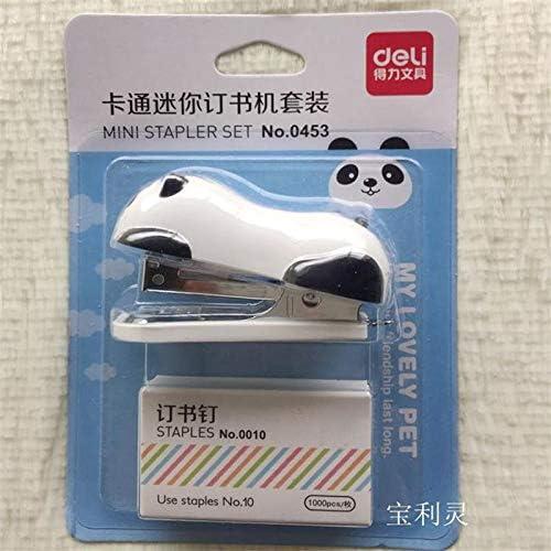 Mini-Heftger/ät mit Panda-Motiv 6 x 2,5 cm