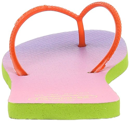 Sandalias mujer Green Sunset para Flat Lime Havaianas Strawberry AwxpqEI1Z